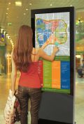 "55"" Freestanding Multi Touch Advertisting Screen"
